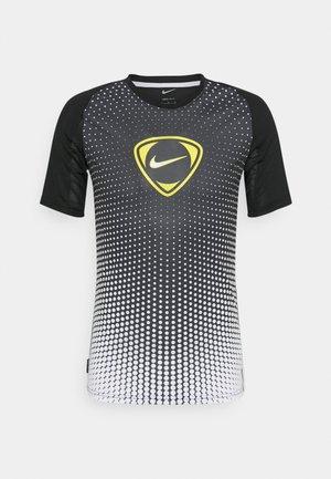 ACADEMY - Print T-shirt - black/white