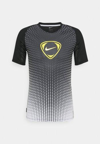 ACADEMY - T-shirt print - black/white