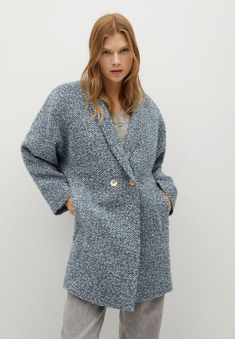 Mango - CATANIA - Short coat - blau
