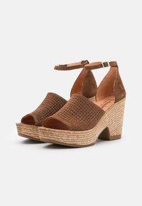 Felmini - MESHA - High heeled sandals - brown - 2