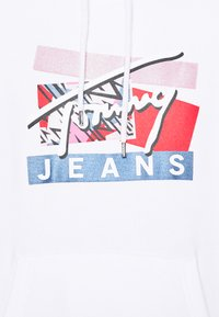 Tommy Jeans - MODERN LOGO HOODIE - Sweat à capuche - white - 5