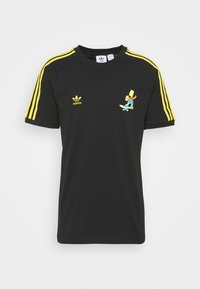 adidas Originals - THE SIMPSONS  3 STRIPES TEE - Print T-shirt - black - 5