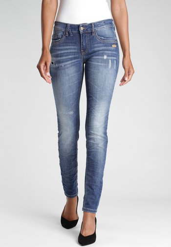 SKINNY FIT GIOIA - Jeans Skinny Fit - moon dust