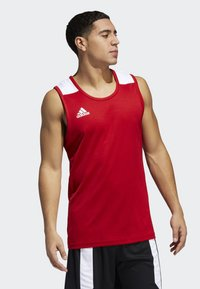 adidas Performance - CREATOR 365 JERSEY - Funktionsshirt - red/white - 0