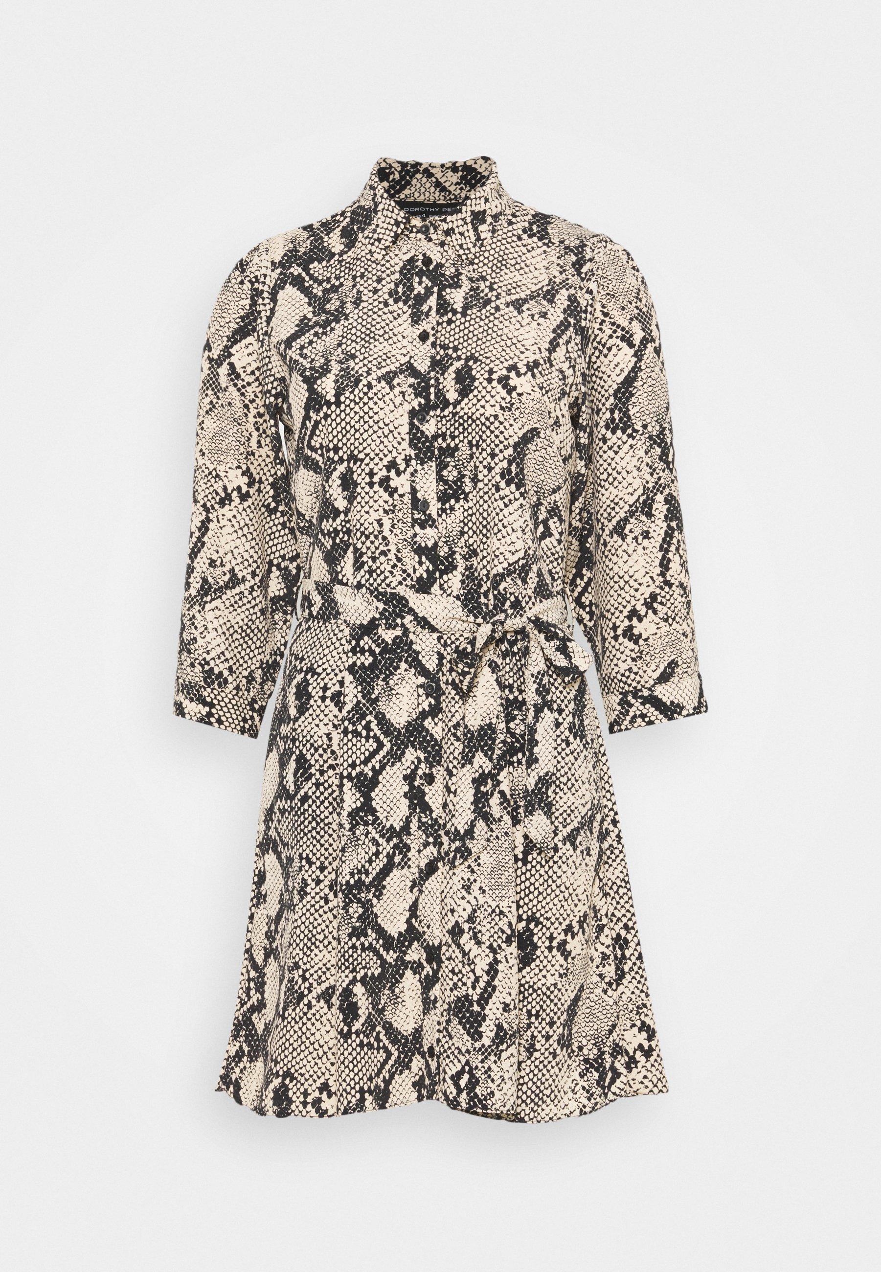 Mujer SNAKE MINI SHIRT DRESS - Vestido informal