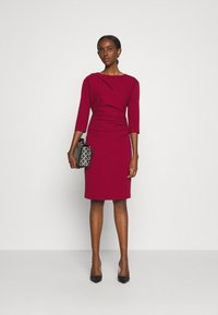Tiger of Sweden - IZZA  - Shift dress - red art - 1