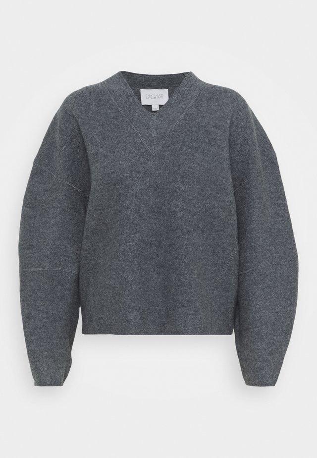 REGINA - Sweter - grey melange