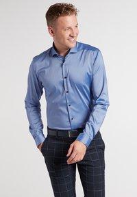 Eterna - SUPER-SLIM - Formal shirt - mittelblau - 0