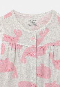 Carter's - SUR WHALE - Jumpsuit - grey/pink - 2