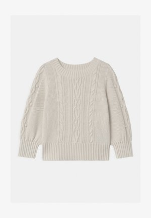 TODDLER GIRL CREW - Jumper - ivory frost