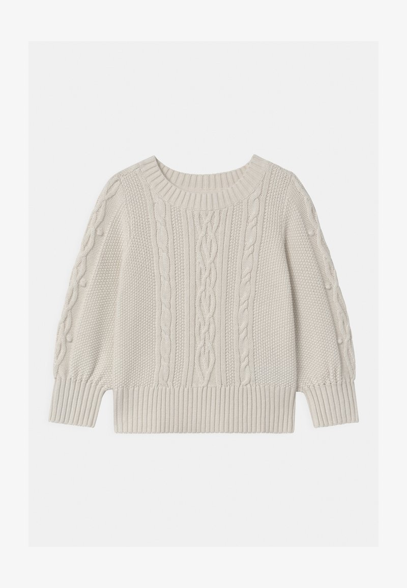 GAP - TODDLER GIRL CREW - Svetr - ivory frost