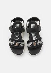 MOSCHINO - UNISEX - Sandals - black - 3