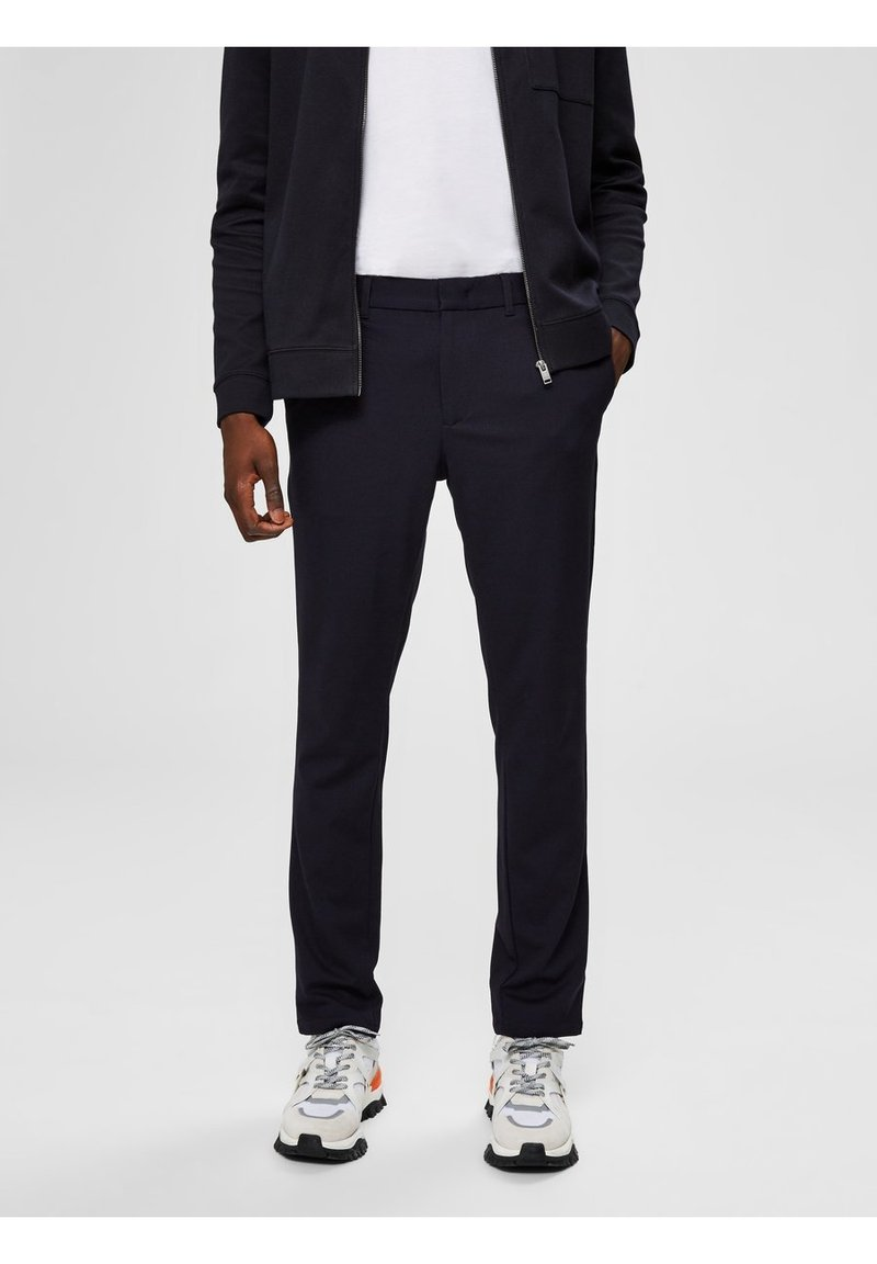 Selected Homme - FLEX FIT HOSE SLIM FIT - Chinos - dark sapphire