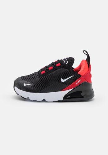 AIR MAX 270 UNISEX - Sneakers laag - black/white/university red/bright crimson