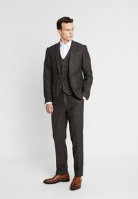 Shelby & Sons - BUCKLAND SUIT - Completo - dark brown - 1