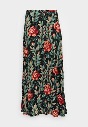 JUNO MAXI SKIRT FLORENCE - A-line skirt - black