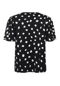 Ro&Zo - Print T-shirt - black - 5