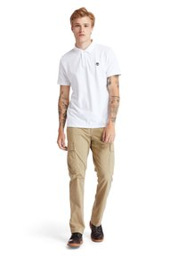 Timberland - MILLERS RIVER - Polo shirt - white - 1