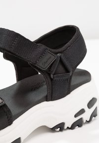 Skechers Sport - D'LITES - Walking sandals - black - 2