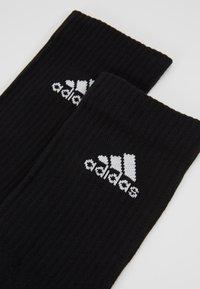 adidas Performance - CUSH 6 PACK - Sports socks - black - 2