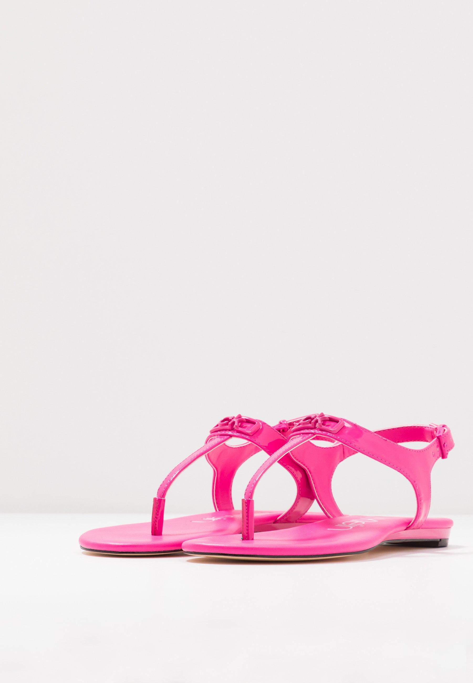Calvin Klein Shamary - Sandaler M/ Tåsplit Scuba Pink