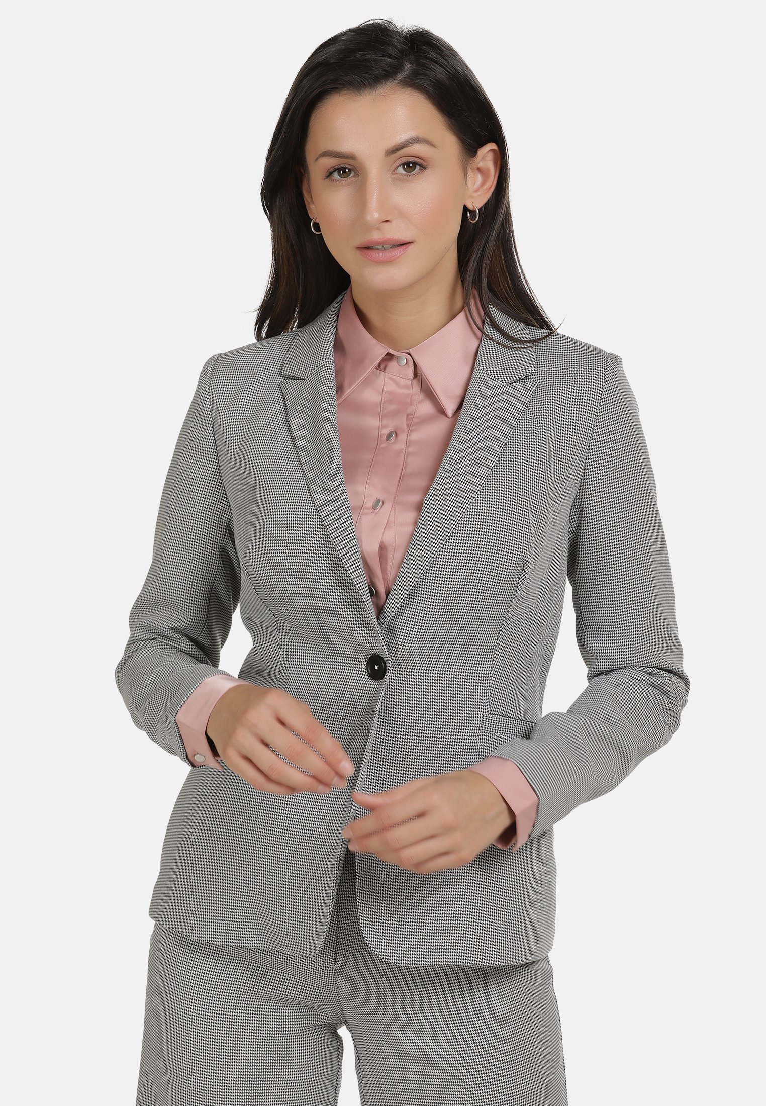 Sale Women's Clothing usha Blazer schwarz weiss qhaUqjoSe
