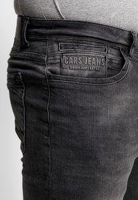 Cars Jeans - BLAST PLUS - Slim fit jeans - black used - 5
