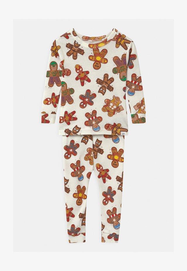 TODDLER BOY MARVEL SUPERHEROES  - Pyjama set - snowflake milk
