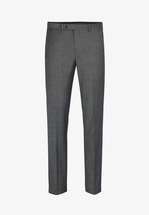 Suit trousers - hellgrau