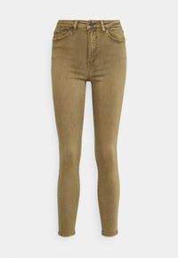 Vila - VIAMY PIGMENT DYE - Jeans Skinny Fit - butternut - 0