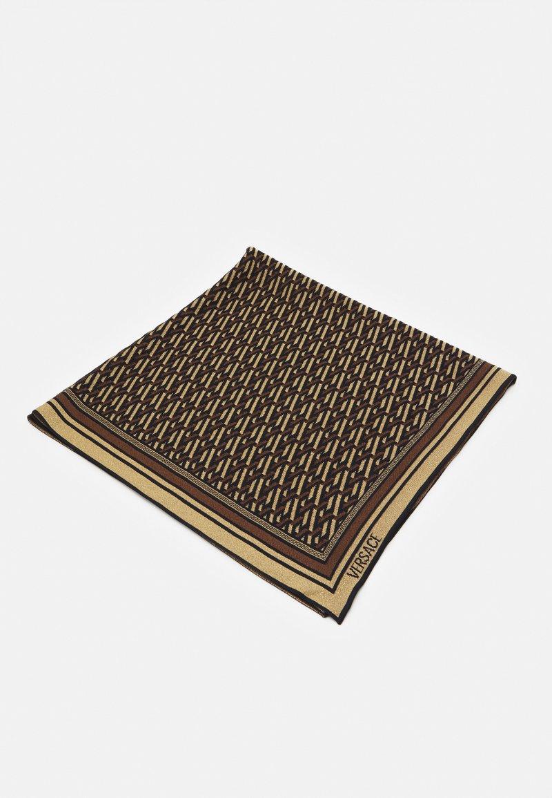 Versace - SCARF UNISEX - Foulard - nero/gold-coloured