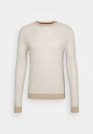 JORTONS CREW NECK - Jumper - crockery