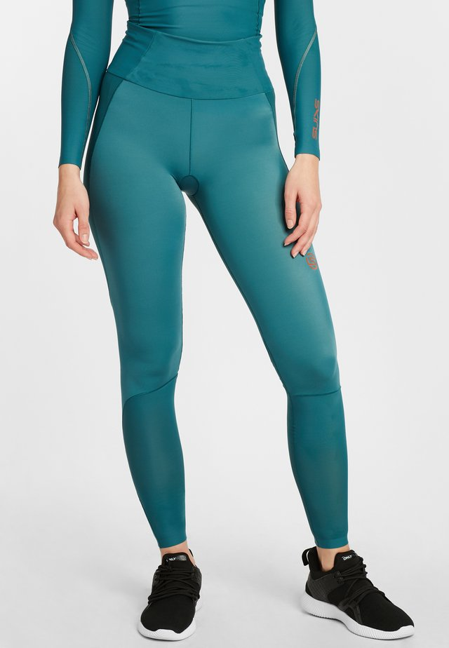 S5 SKYSCRAPER  - Leggings - teal