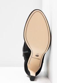 Tamaris - High heeled ankle boots - black - 6