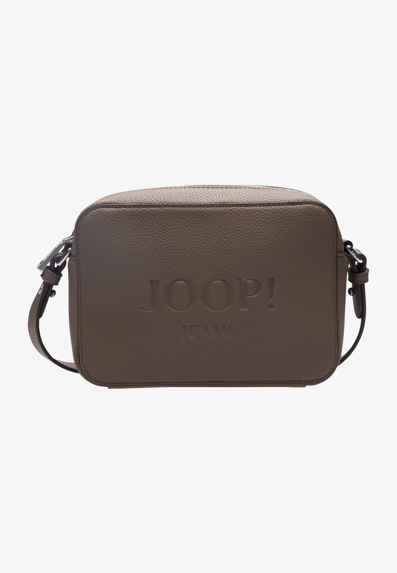 JOOP! Jeans - LETTERA - Across body bag - taupe