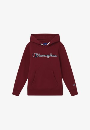 ROCHESTER LOGO HOODED  - Jersey con capucha - bordeaux