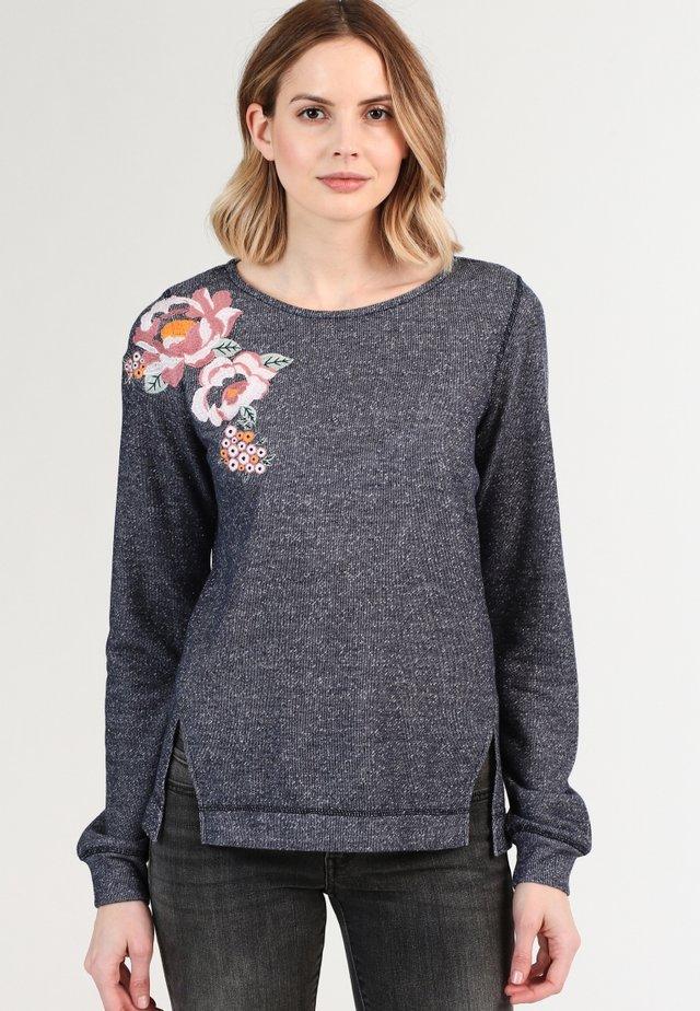 Sweater - marine melange