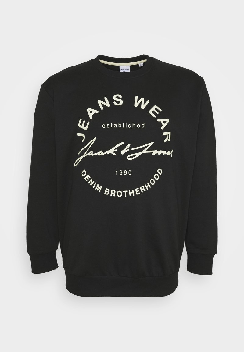 Jack & Jones - JJ HERO - Sweatshirt - black