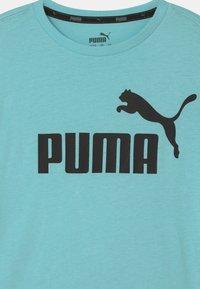 Puma - LOGO UNISEX - T-shirt print - light blue - 2
