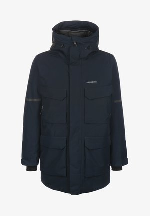 Winter coat - dark night blue