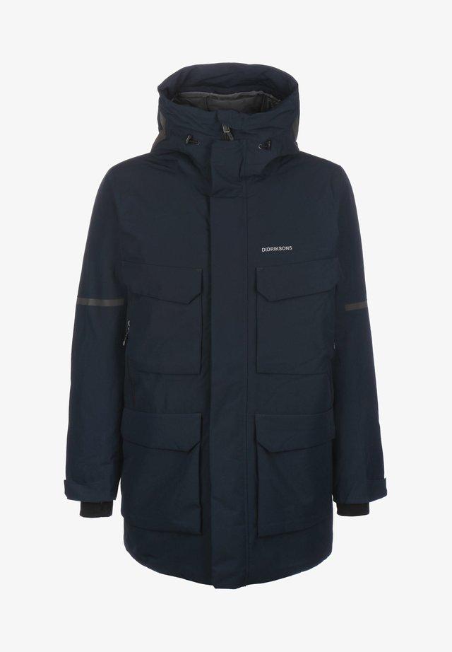 Abrigo de invierno - dark night blue