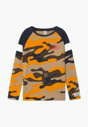 HEZRON - Long sleeved top - earth