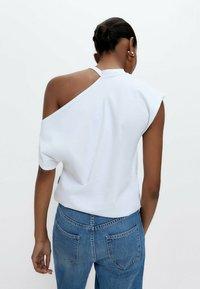 Uterqüe - Print T-shirt - white - 2