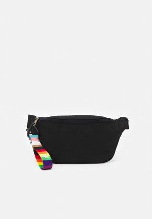 PRIDE WAISTBAG UNISEX - Bum bag - black