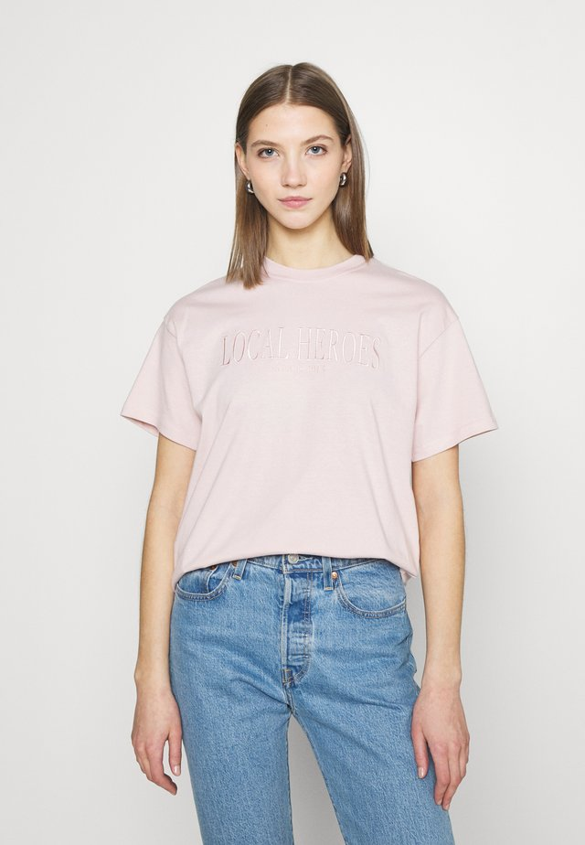 TEE - T-shirt con stampa - dusty pink
