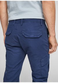 s.Oliver - Cargo trousers - blue - 4
