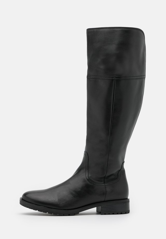 XL - Kozaki - schwarz