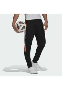 adidas Performance - TIRO  - Træningsbukser - black/scrora - 0