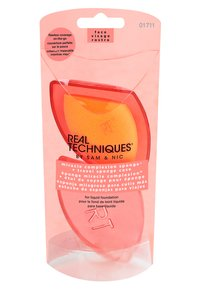 Real Techniques - MIRACLE COMPLEXION SPONGE + CASE - Make-upsponsjes & -blenders - - - 1