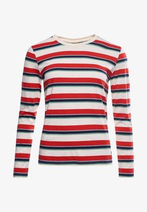 CALI - Long sleeved top - apple red stripe
